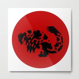 Omega Ruby - Primal Groudon Metal Print