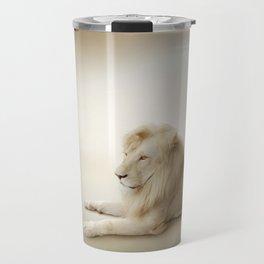 White Lion Travel Mug