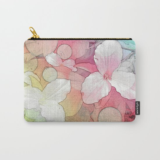 Trillium flowers Carry-All Pouch