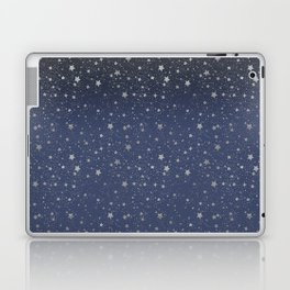 Silver Stars Reach Laptop & iPad Skin