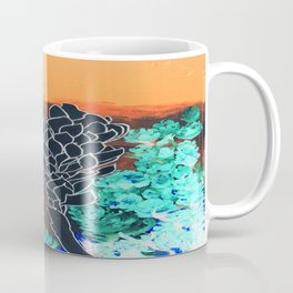 DESERT NIGHT Alpinia Purpurata Coffee Mug