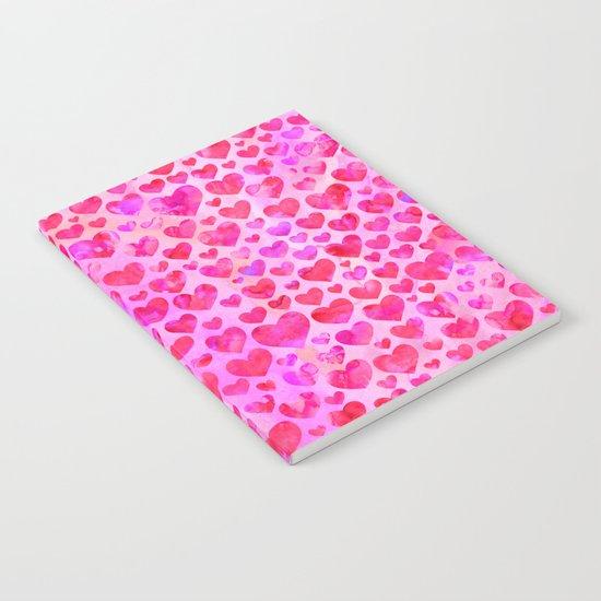 Heart Pattern 02 Notebook