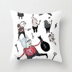Minis Johnson Throw Pillow