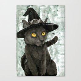 Witch's Familiar Canvas Print