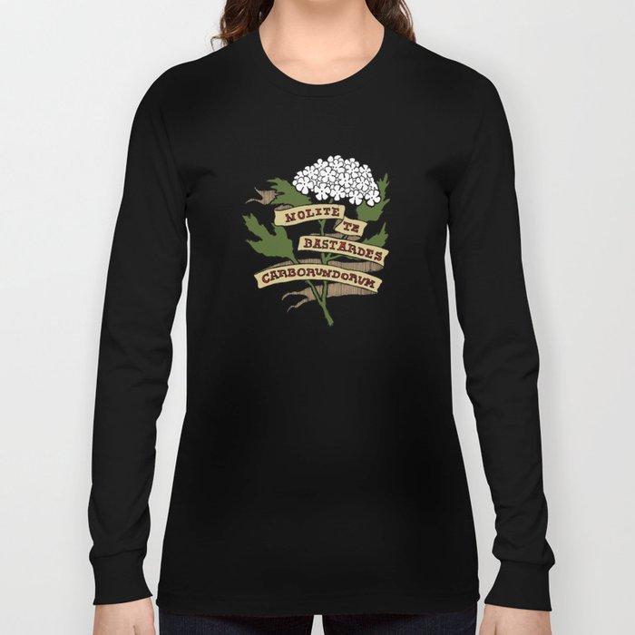 Handmaid's Tale - NOLITE TE BASTARDES CARBORUNDORUM (color) Long Sleeve T-shirt