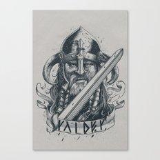 Raider (Viking) Canvas Print