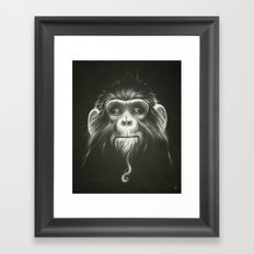 Prisoner (Original) Framed Art Print