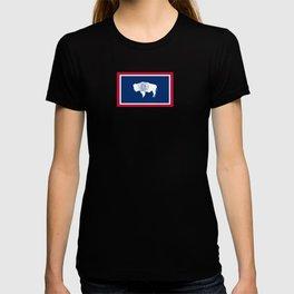 flag wyoming,america,usa,west,moutain, equality,Wyomingite,Cheyenne,Casper,Laramie T-shirt
