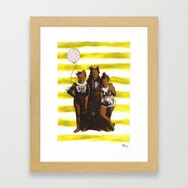 Good Times, Good Times Framed Art Print