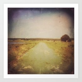 PATH TO ANYWHERE Art Print