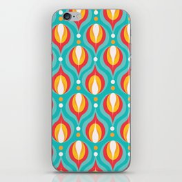 Colorful Dewdrops iPhone Skin