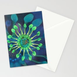 Passion Flower Watercolor Stationery Cards
