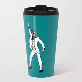 Saturday Night Cyberman Travel Mug