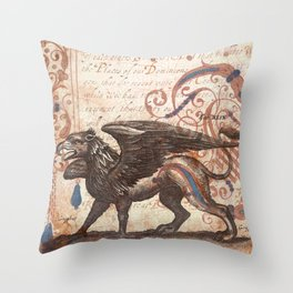 Dominions Throw Pillow
