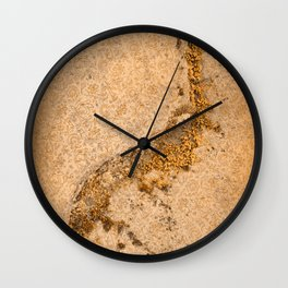 Vintage Moss Flourishes Wall Clock