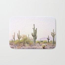 Cactus In The Desert Bath Mat