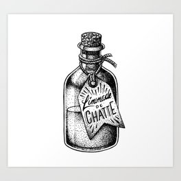 Limonade de Chatte Art Print