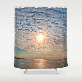Saint-Malo Sunset Shower Curtain