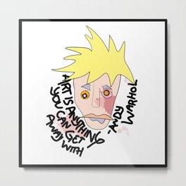 Warhols Metal Print