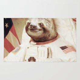 Sloth Astronaut Rug