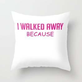 Too Busy Flaws Lovable Person Gift Throw Pillow