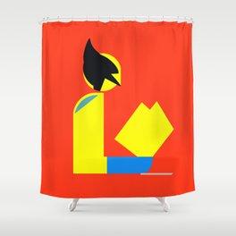 Weapon X Gentleman Reads Shower Curtain