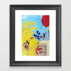 Reds Framed Art Print