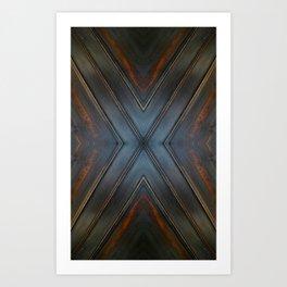 Wooden Cross Art Print