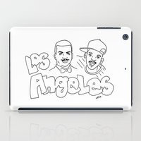los angeles iPad Cases featuring Los Angeles by elle stone
