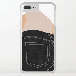 Girl 4 Clear iPhone Case