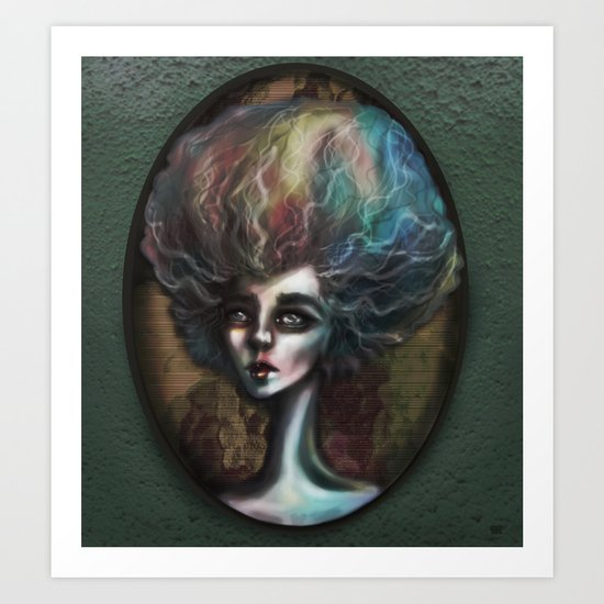 Drama of The Dark and Wicked Art Print