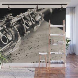 Clarinet Wall Mural