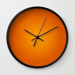 Textured Amberglow Wall Clock