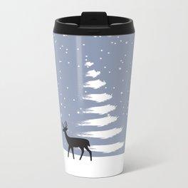 C1.3 OOOH DEER Metal Travel Mug