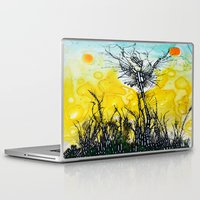 tim burton Laptop & iPad Skins featuring Tim Burton by Jose Luis