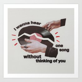 broken records Art Print