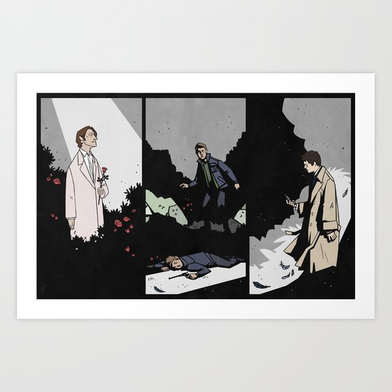 Endverse TFW Set Art Print