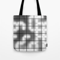 numbers Tote Bags featuring Numbers by Sofia_Katsikadi