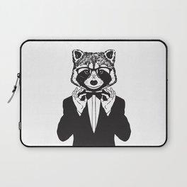 Fancy Raccoon Laptop Sleeve