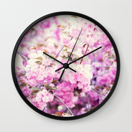 Cherry blossoms II Wall Clock