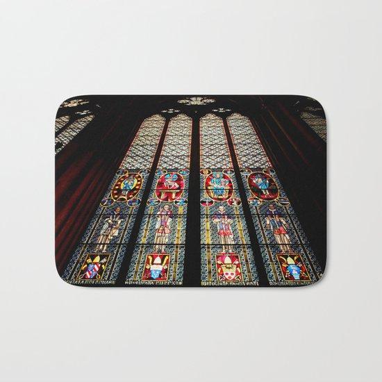 Cathedral Window Bath Mat