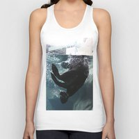 otter Tank Tops featuring Otter by RMK Photography