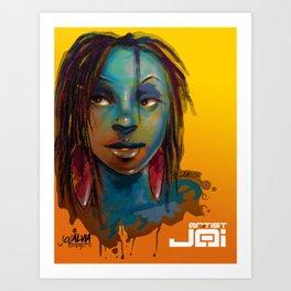 Afro Brazilian Art Print