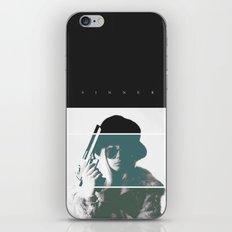 Sinner iPhone & iPod Skin