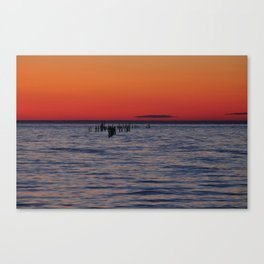 Eastern Shore Sunset Canvas Print