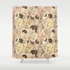 pattern Flowers Shower Curtain