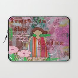 Trust in the Divine Laptop Sleeve
