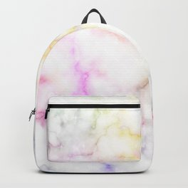 Colorful marble pattern Backpack