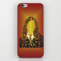 hermione iPhone & iPod Skins featuring Hermione by Rebecca McGoran