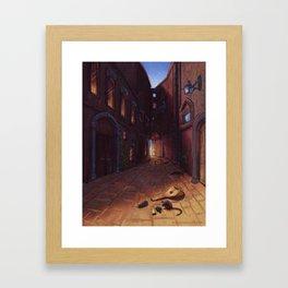 An Alley In Tarbean Framed Art Print